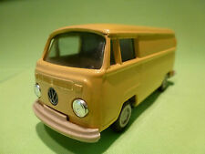 GAMA-MINI VW VOLKSWAGEN T2 BUS YELLOW 1:42 - IN VERY GOOD CONDITION