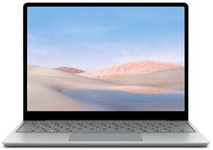Microsoft Surface Laptop Go Platin PC Portable 12,4 Pouces 8 GB RAM D