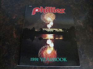 Philadelphia Phillies---1991 Yearbook
