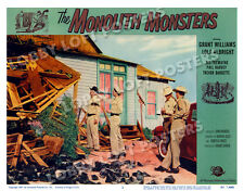 THE MONOLITH MONSTERS LOBBY SCENE CARD # 2 POSTER 1957