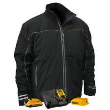 DEWALT 20V Jacket w/ Battery Kit (Black, Large) DCHJ072D1-L New