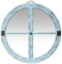 "16"" VITRE Rustic Farmhouse Decorative Wall Mirror, Infinity Instruments 15503LG"