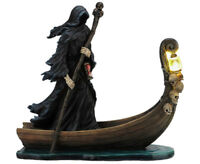 Charon Underworld Ferryman for Greek Gods Grim Reaper Death LED Lantern Statue