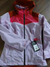 Helly Hansen W Zera outdoor tech hooded pale pink jacket size M NEW + TAGS