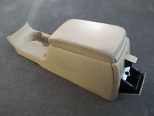 Mittelkonsole hinten Mittelarmlehne VW Passat 3BG Konsole beige LEDER Armlehne