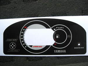 NEW 05-08 Yamaha GPR 800 1200 1300 GP R Gauge Decal Sticker Head Overlay DISPLAY