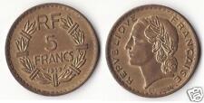 5 Francs Lavrillier Bronze Alu 1939 SUP