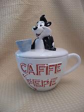 WARNER BROS. CAFFE CUP PEPE LE PEW #A2565 Cookie Jar