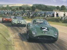 1962 Goodwood Tourist Trophy (Aston Martin Zagato Jim Clark) door Graham Turner