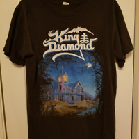 Graphic KING DIAMOND Band Black Men Short Sleeve Tee Shirt All Size LL075