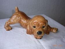 Zeitgenössisches Goebel-Porzellan mit Hunde-Motiv aus