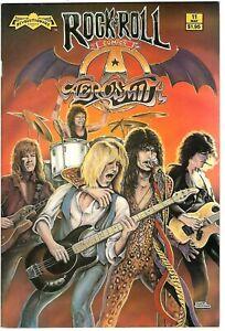 "Rock N'  Roll Comics #11 (1990) FN 1st Print  ""Aerosmith""  Hsieh - Fox"