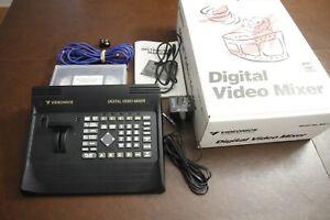 Videonics Digital Video AB Roll Edit + Mixer MX-1 + TM1 Title Maker SET Boxes EX