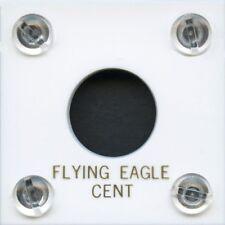 "Capital Plastic #144 Coin Holder ""Flying Eagle Cent"" - White"