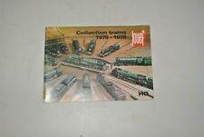 catalogue JOUEF 1978 1979   ( train electrique ho )