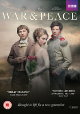 War and Peace DVD (2016) Paul Dano, Harper (DIR) cert 15 3 discs ***NEW***