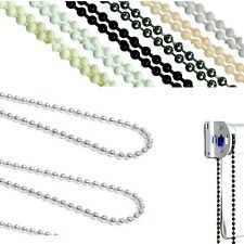 PRE LOOPED PLASTIC COLOUR CHAIN FOR ROLLER HOLLAND BLIND ALL COLOURS AND SIZES