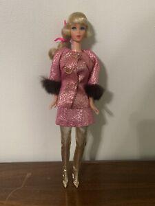 Vintage Talking Barbie in Sears Golden Groove Outfit  Hair In Original Set
