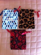 3 Brighton Drawstring Cloth Pouch Set  #1