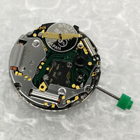 For ISA 8172 Quartz Watch Movement Date at 4'with Attache Stem Battery RepairSet