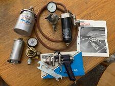 New listing binks model 7 spray gun paint sprayer+extras