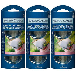 6 x refills YANKEE CANDLE ELECTRIC SCENT PLUG IN AIR FRESHENER SUNNY DAYDREAM