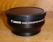 Canon Wide Converter WD-58 0.7x 58 Camcorder Lens