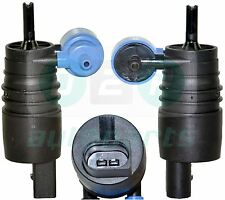 TWIN OUTLET WINDSCREEN WASHER PUMP FOR VW BORA CADDY MK3 GOLF MK4 MK5 PLUS LUPO