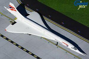 "Gemini Jets British Airways (G-BOAB) Concorde ""New-Sold"" 1/200"