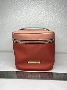 Michael Kors 2 Tone Pink/Coral Make Up Case