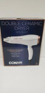 Hair Dryer Conair 565DCR  Double Ceramic  White Rose Gold 1875 Watt