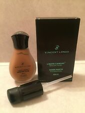 VINCENT LONGO SHEER MATTE FOUNDATION SPF 8 # 11 RICH SIENNA 1oz