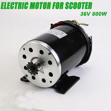 800 W 36V DC electric motor w bracket for scooter bike go-kart MY1020 2800rpm
