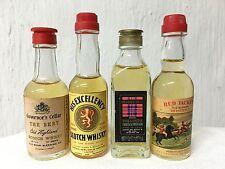 Lotto 4 Bottiglie Mignon Whisky Governor's Cellar Red Jachet His Excellency Bake