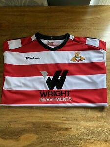Doncaster Rovers Home Shirt - Size Adult XL 46/48 Vandanel - 2008/9