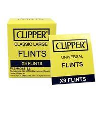 4 X CLIPPER LIGHTER UNIVERSAL 9pc FLINTS LIGHTER (36)