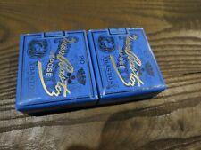 2 anciens paquets de cigarettes JUAN BASTOS pour collection uniquement