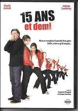 DVD ZONE 2--15 ANS ET DEMI--AUTEUIL/LAMBOLEY/DESAGNAT & SORRIAUX