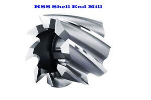 40MM Diameter - 32MM Length - 16MM Bore -HSS Shell End Mill