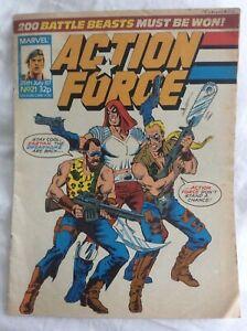 Action Force #21 25/7/87 Doppelgänger (Part 3) Darkness (Part 2) Marvel Comics