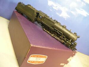 BRASS O US Hobbies Pennsylvania Railroad I-1 2-10-0 C/P NO RESERVE