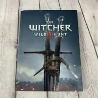 The Witcher 3 Wild Hunt Official Collectors Edition Strategy Guide Hardcover Map
