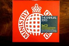 The Annual 2003 - Ministry Of Sound (2002) 3CD Germany, Very Good