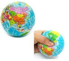 Fashion Toy World Globe Shape Stress Relief Ball Children Sponge Toy MY-1531