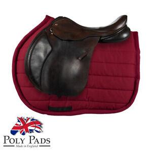 GENUINE PolyPad Premier Jump Horse Saddle Pad Numnah Cloth Cob Full Size Single