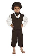 Bistol Novelties Child Fancy Dress Boy Victorian Urchin Small Age 4 - 6