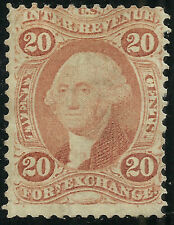 Scott R41c - The Twenty Cent Foreign Exchange Stamp from 1863 - $80.00 SCV