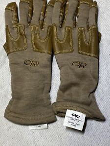 Outdoor Research Swoop Liner 71680 Flame Resistant Gloves Large