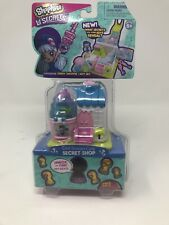 🌟 Cool Scoops Cafe Shopkins Lil Secrets with Mini Shoppies Doll NEW SEALED