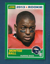 2013 SCORE BRONCOS MONTEE BALL ROOKIE CARD #410